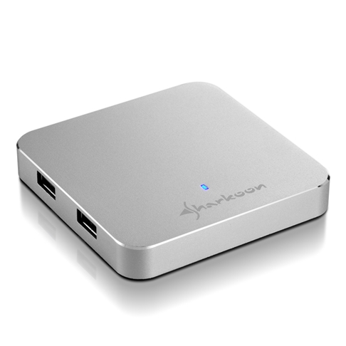 4-Port USB 3.0 Aluminium Slim Hub (5)