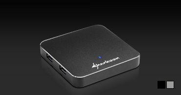 4-Port USB 3.0 Aluminium Slim Hub